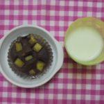 さつま芋炒りココアケーキ・スキムミルク
